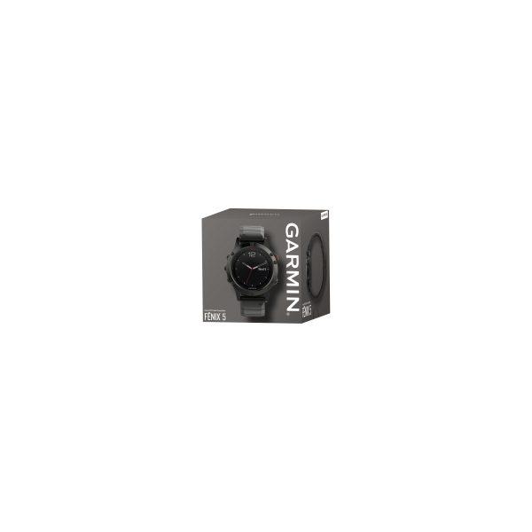 Garmin Fenix 5 Sapphire Slate Gray - Metalen Polsband