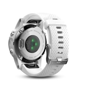 garmin fenix 5s carrara wit
