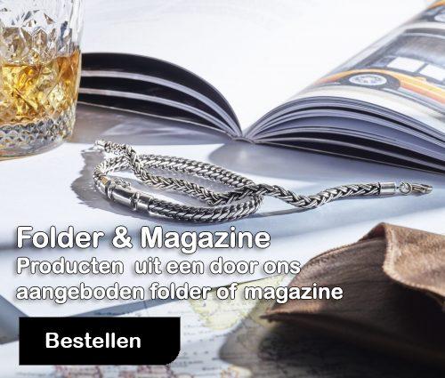 Artikelen bestellen uit folder of magazine bij juwelier de balans